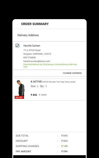 Koovs Online Shopping App скриншот 6