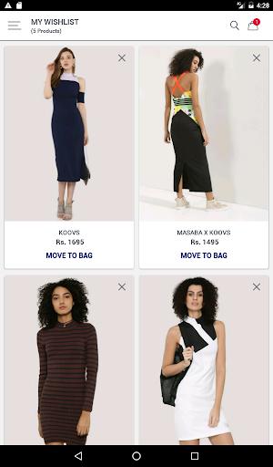 Koovs Online Shopping App скриншот 11