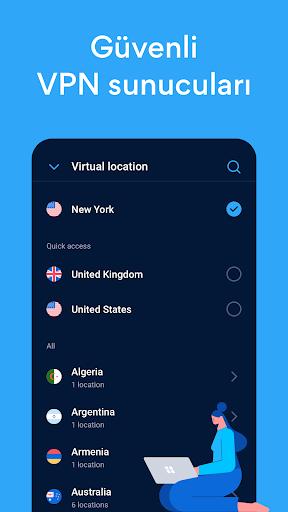 Hotspot Shield Ücretsiz VPN vekil & WiFi Güvenliği screenshot 3