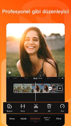 Video Duzenleyici & Video Yapma Programı screenshot 1