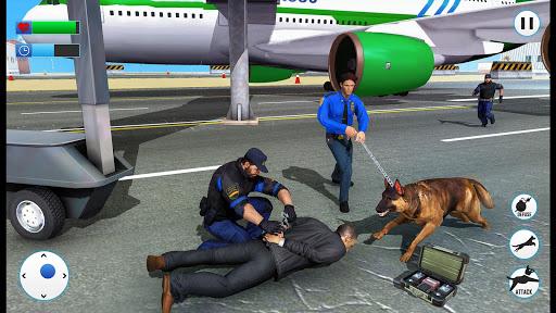US Police Dog 2019: Airport Crime Shooting Game 2 تصوير الشاشة