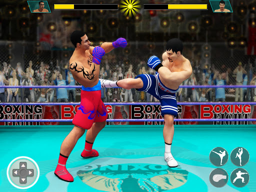 Real Punch Boxing Games: Kickboxing Super Star screenshot 13