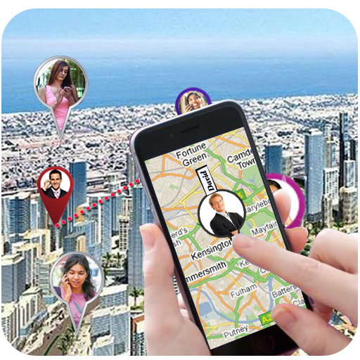 Mobile Number Location GPS icon