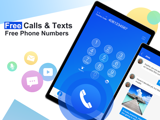Free phone calls, free texting SMS on free number screenshot 5