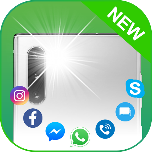 Flash Alerts Pro: Flash blinks on calls & messages icon