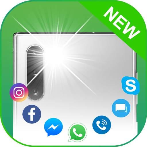 Flash Alerts Pro: Flash blinks on calls & messages