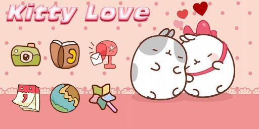 Cute Kitty Love Theme screenshot 4