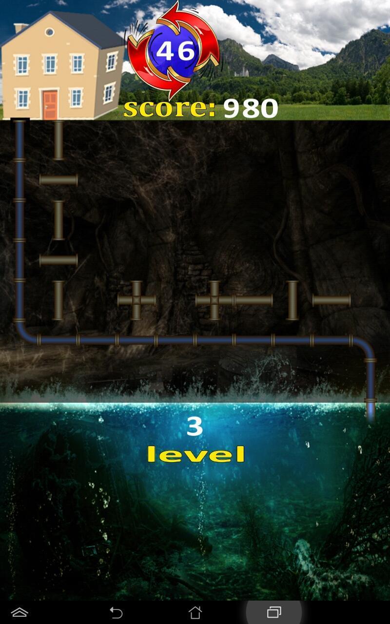 Plumber 911 labyrinth 4 تصوير الشاشة