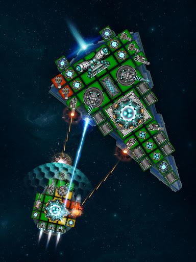 Space Arena: Build a spaceship & fight 3 تصوير الشاشة