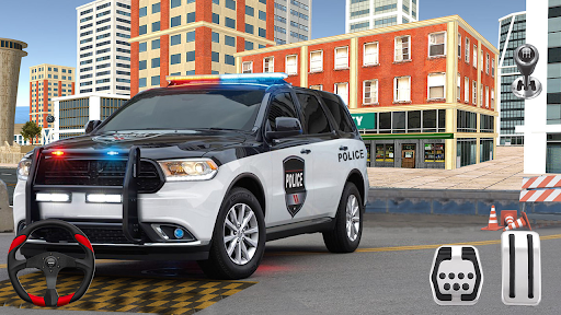 New Game Police Car Parking Games - Car Games 2020 screenshot 4
