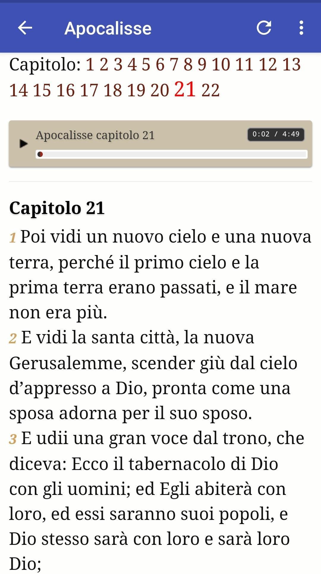 La Sacra Bibbia Gratis screenshot 4