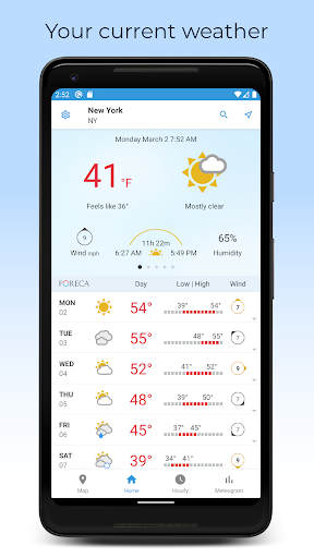 Foreca Weather screenshot 1