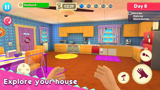 Mother Simulator: Happy Virtual Family Life 1 تصوير الشاشة