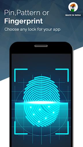 App Lock Fingerprint - A Made in India App 1 تصوير الشاشة