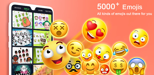 ❤️Emoji keyboard - Cute Emoticons, GIF, Stickers screenshot 1