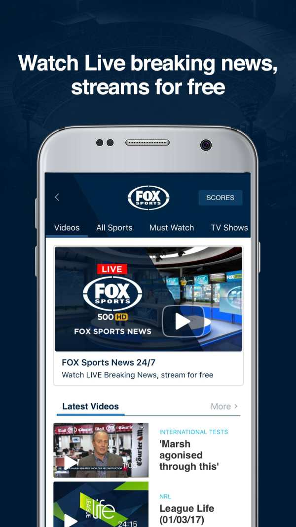 Fox Sports - AFL, NRL & Sports screenshot 1