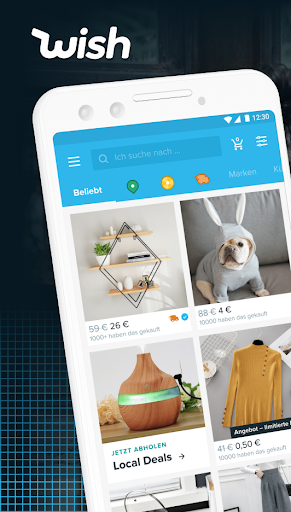 Wish - Smart Shoppen & Sparen screenshot 1
