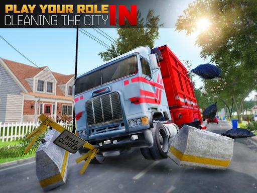 Garbage Truck Driving Simulator - Truck Games 2020 screenshot 10