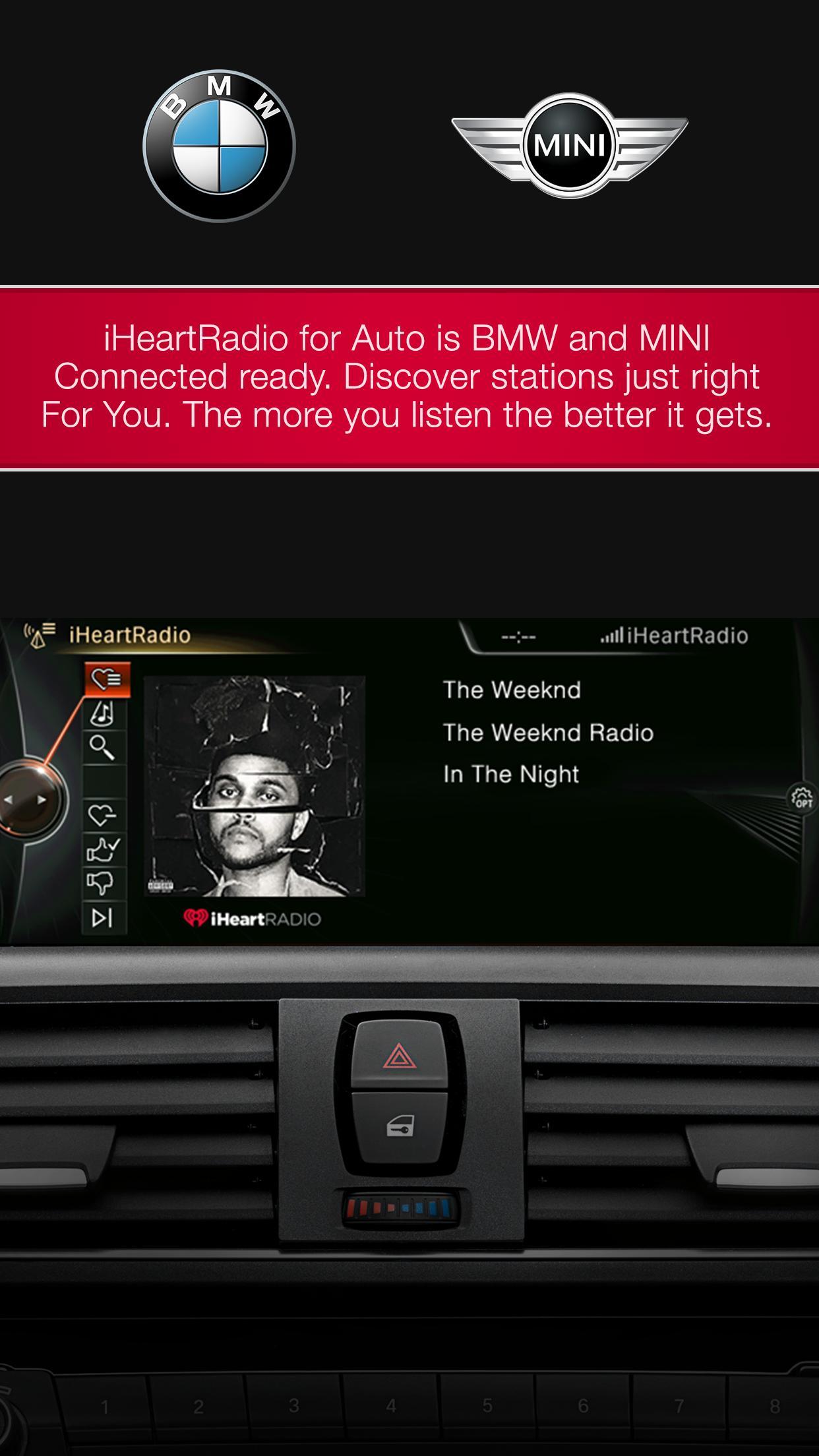 iHeartRadio for Auto screenshot 2