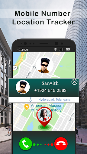 Mobile Phone Caller Number Tracker screenshot 2
