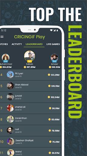 Cricingif - PSL 5 Live Cricket Score & News 6 تصوير الشاشة