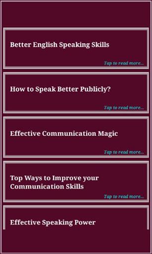 Speaking Skills 3 تصوير الشاشة