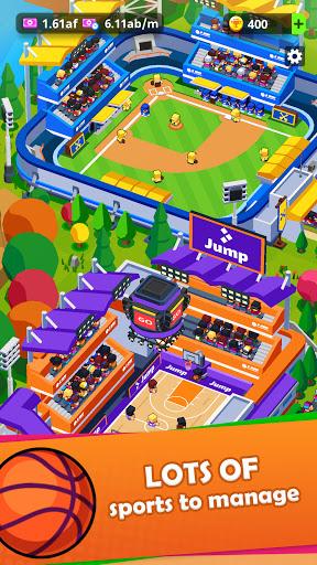 Sports City Tycoon - Idle Sports Games Simulator screenshot 2