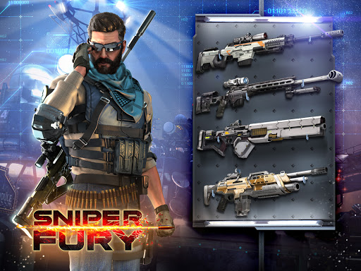 Sniper Fury: Online 3D FPS & Sniper Shooter Game 1 تصوير الشاشة