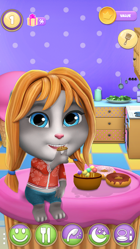 My Cat Lily 2 - Talking Virtual Pet screenshot 4