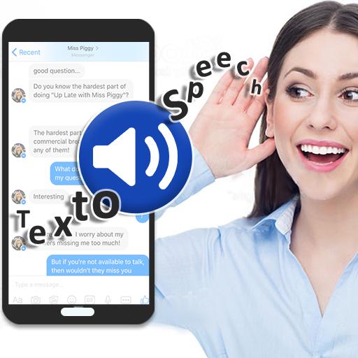 Text to Speech (TTS) - Text Reader & Converter أيقونة