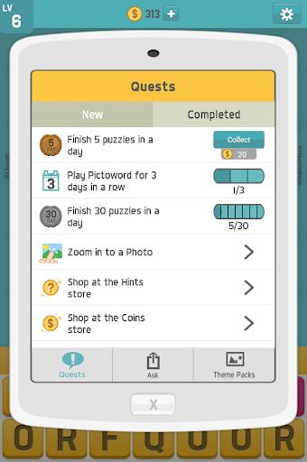 بكتوورد: ألعاب كلمات ممتعة، لعبة كلمات للدماغ 9 تصوير الشاشة