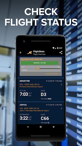 FlightStats screenshot 1