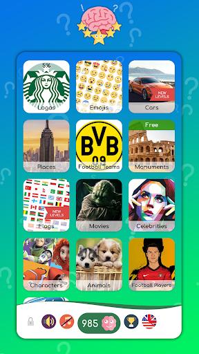 PICS QUIZ. Guess photo logo, Emoji and more screenshot 2