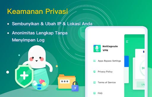 NetCapsule VPN | Proksi Gratis, Cepat, Buka Blokir screenshot 10