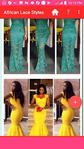 AFRICAN LACE STYLES 2021 screenshot 9