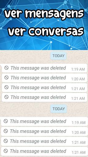 ler mensagens e conversas apagadas screenshot 1