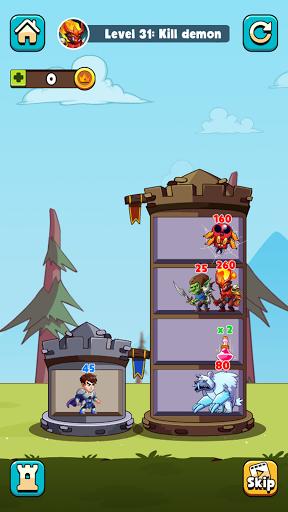 Hero Tower Wars - Merge Puzzle screenshot 5