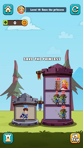 Hero Tower Wars - Merge Puzzle screenshot 6