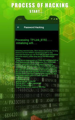 WIFI Password Hacker App Prank screenshot 3
