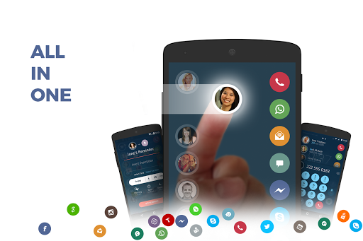 Contacts, Phone Dialer & Caller ID: drupe screenshot 1