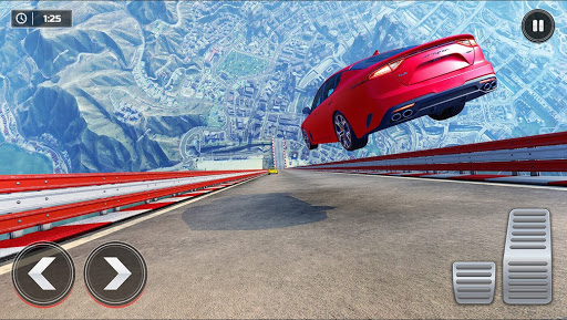 Mega Rampe Car Stunt: Autorennspiele Offline 2021 screenshot 3