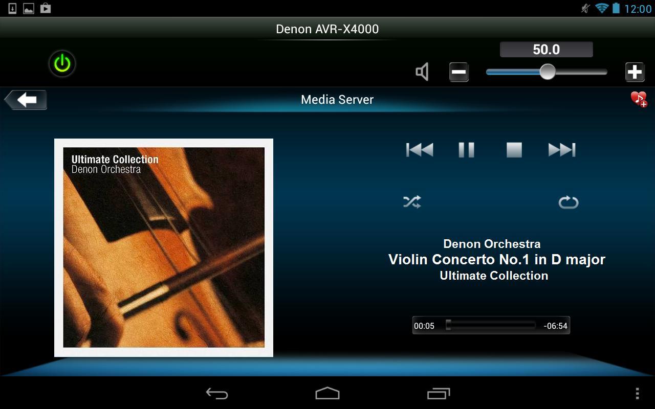 Denon Remote App screenshot 14