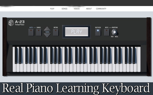 Real Piano Learning Keyboard 2020 1 تصوير الشاشة
