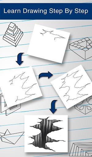 How to Draw 3D 10 تصوير الشاشة