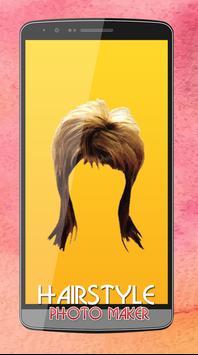 Women Hair Style Photo Editor screenshot 2