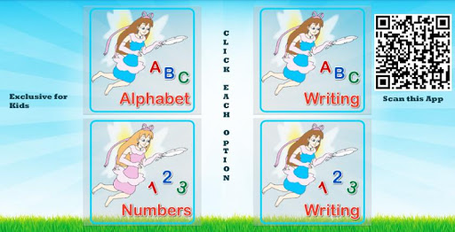 ABCD & Numbers Practice Kids screenshot 1