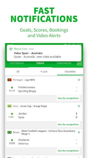 SKORES - Live Football Scores screenshot 3
