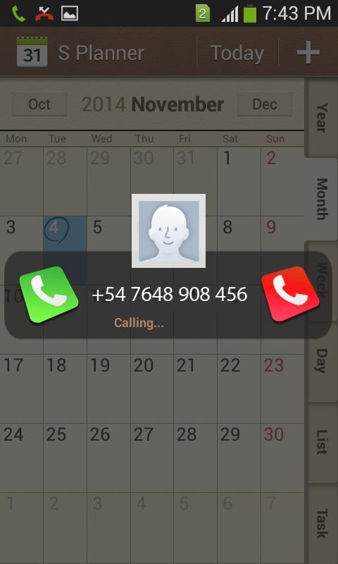 Transparent Caller screenshot 2