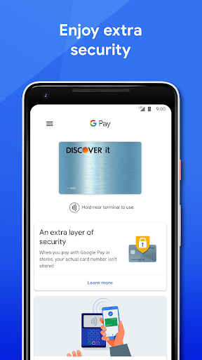 Google Pay: Pay with your phone and send cash screenshot 4