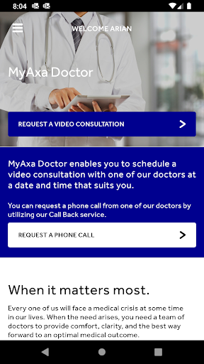 MyAΧΑ Doctor screenshot 1